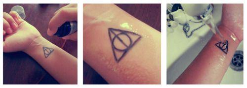 DIY Temporary Tattoo!