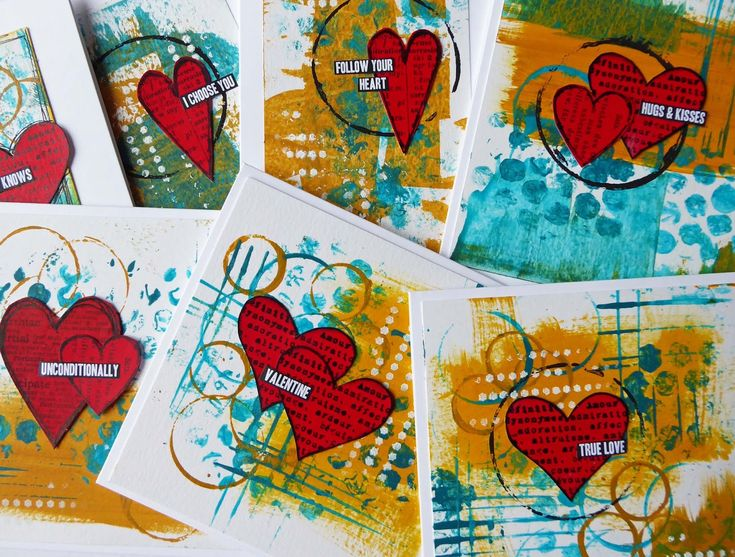 Welcome all to my latest post for the DecoArt Media DT. For this project I've created some non-traditional Valentine's cards using Fluid Acrylics. #decoartprojects