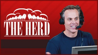 Colin Cowherd - ESPNRadio  Dude is awesome!