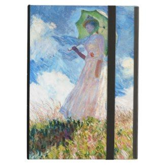 Woman with a Parasol Claude Monet lady painting iPad Air customizable case #woman #parasol #monet #lady #painting #ipad #air #customizable #case