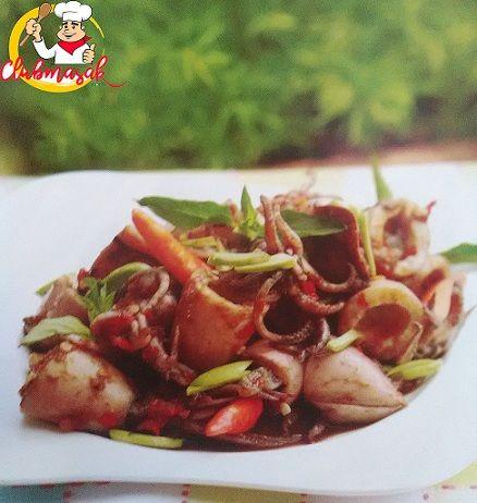 Resep Tumis Cumi Petai, Resep Makanan Seafood Cumi, Club Masak