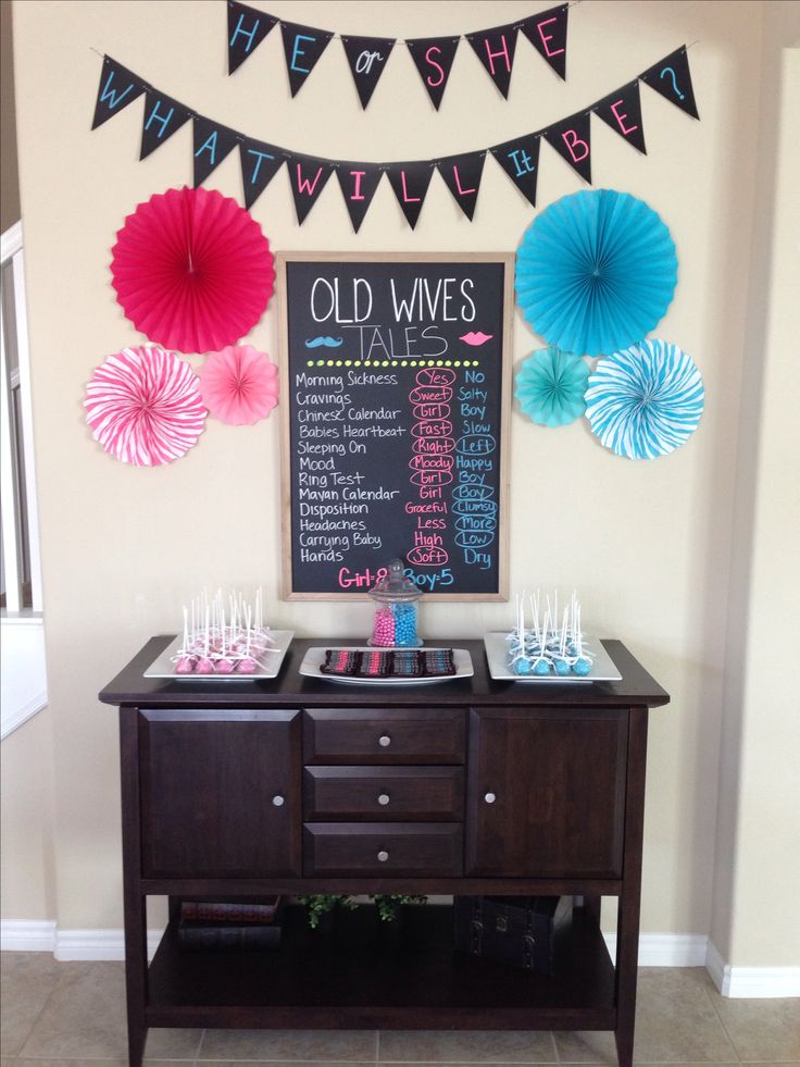 Gender Reveal Party Decor                                                                                                                                                                                 More