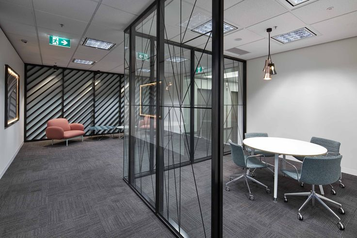 Perpetual Commercial Office Fitout Meeting Room & Reception