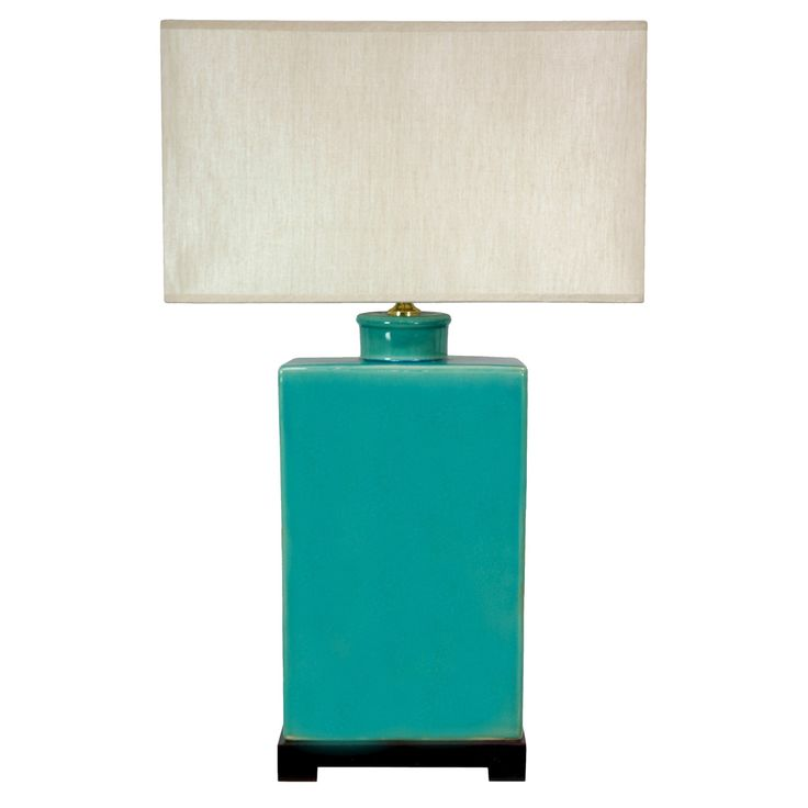 Rectangular Turquoise Lamp (28)