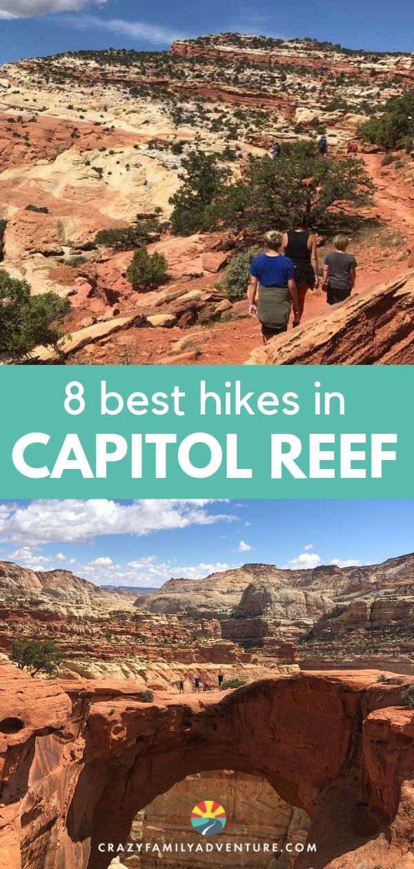 8 Of The Best Hikes In Capitol Reef National Park