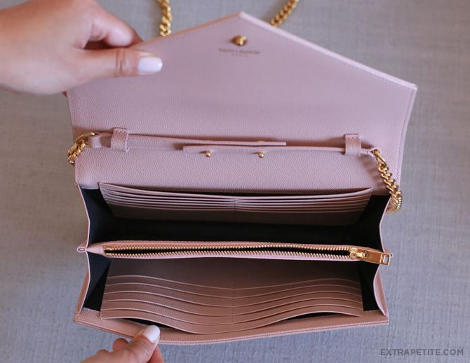 Bag review: YSL Saint Laurent wallet on chain \u0026amp; Cassandre purse ...