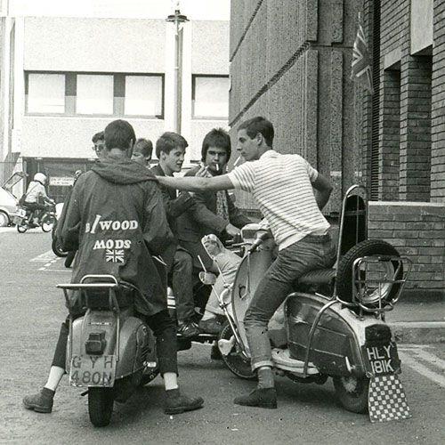 Mods 1979-1980 (c) Paul Wright