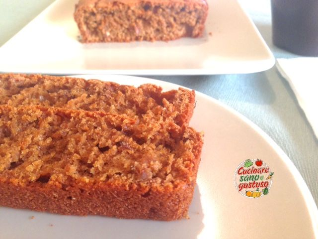 Plumcake integrale ai Cereali soffiati e Caffé - Cucinare sano e gustoso