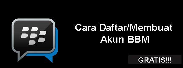 Tutorial Android Indonesia: Cara Daftar Atau Membuat Akun BBM Bagi Yang Belum ...