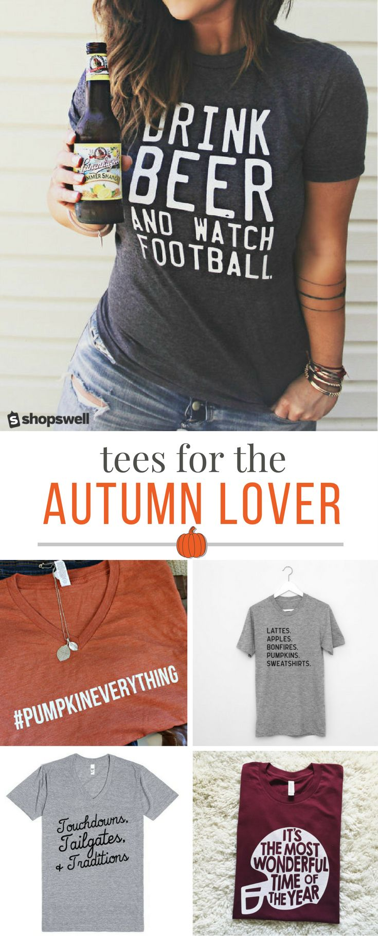 """""""Fall"""" in love with these tees that celebrate your favorite season!"""