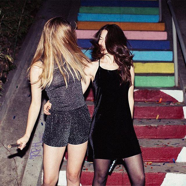 Let's go dancing  #subdued #subduedgirls #subduedusa #nye : @jenavieve