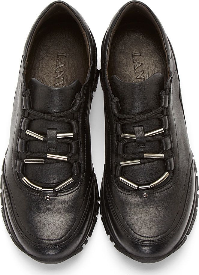 Mens Fashion Sneakers Black