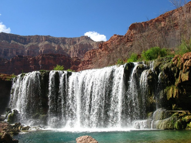 Navajo Falls in Havasupai