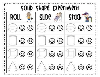Solid Shapes Geometry Unit {Common Core} - Mrs. Ricca's Kindergarten - TeachersPayTeachers.com