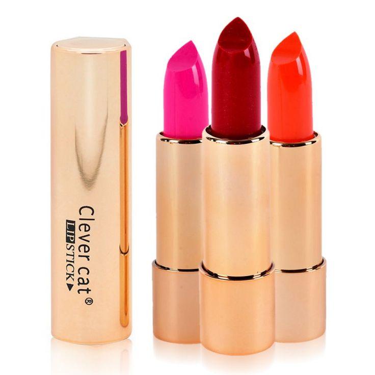12 цвета бренда помады с зеркалом водонепроницаемый помады легко носить губ придерживаться косметического бренда матовый BatomZQ1