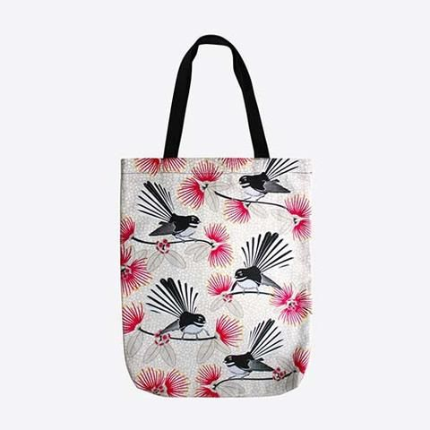 Flirting Fantails - Tote Bag | NZ New Zealand - Buy Online - Gift Ideas for…