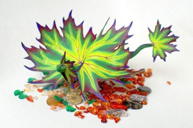 Tiny Handmade Dragons Will Steal Your Heart | Funzug.com