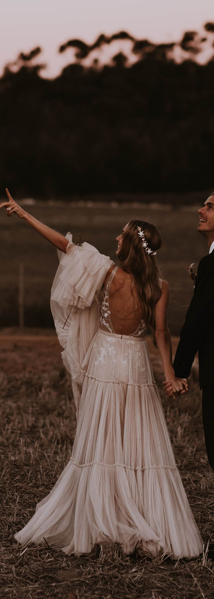 Gorgeous boho #MUSE bride Daniela in style ANNABEL