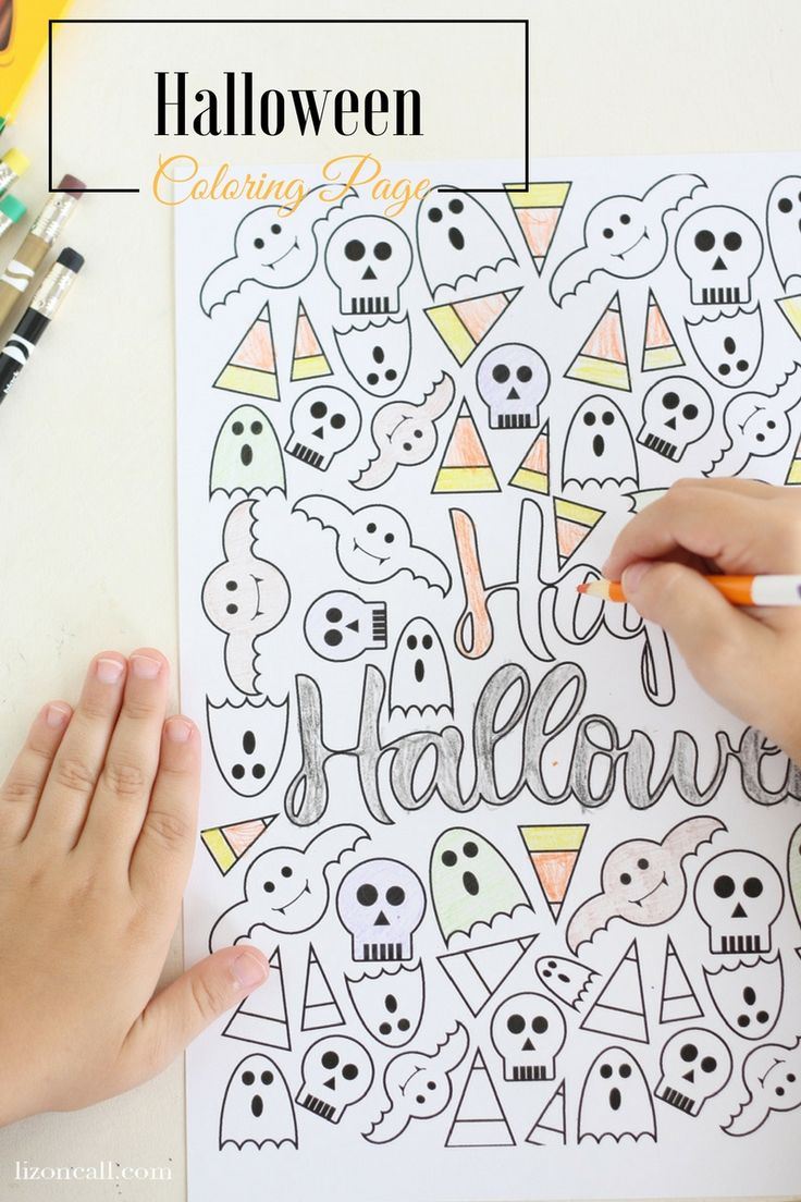 97 best coloring halloween images on pinterest halloween