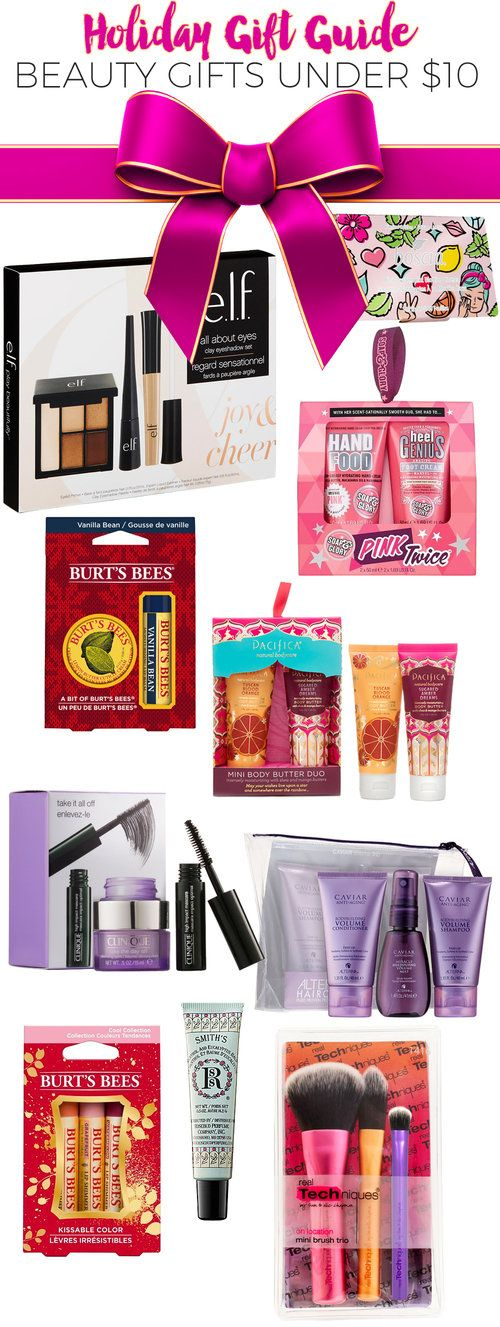 Top 10 Beauty Gifts Under $10.