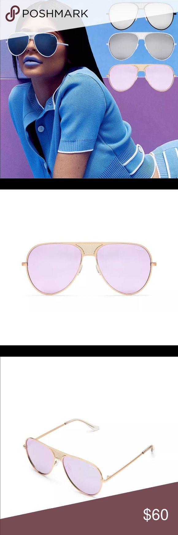 Quay Australian sunglasses Quay Australian collab with kylie Jenner sunglasses new authentic with tags paid 75 with pouch Quay Australia Accessories Sunglasses