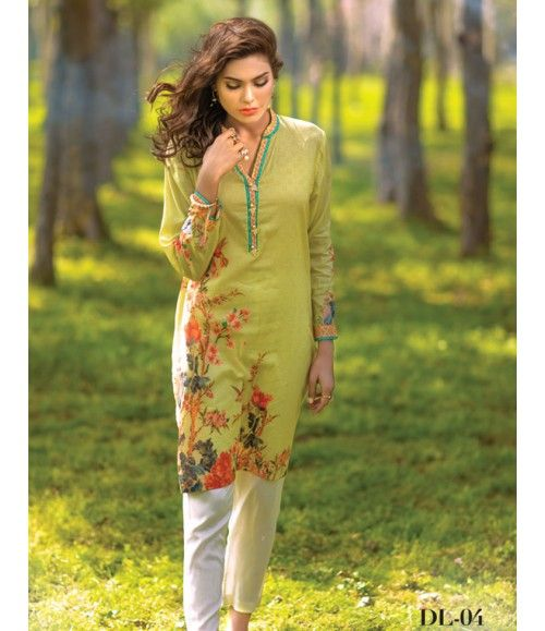Digital Lawn- Summer Fantacy Kurti Collection By Alkaram DL_04