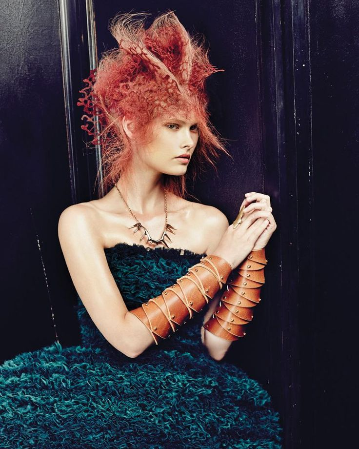Hair: Chie Sato @ Toni&Guy / Photo: Joan-Eric Fischer / Make-up: Philippe Miletto / Styling: Lana Sotnikova