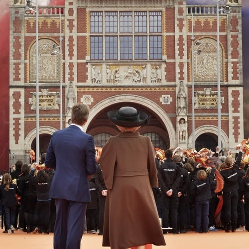 Queen Beatrix of the Netherlands opens Rijksmuseum - Press releases - Press - Rijksmuseum