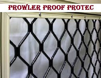 Are you looking to buy prowler proof security screens for your home or office? Look at the photo and buy prowler proof protec from Krazy Keys at the best available price.