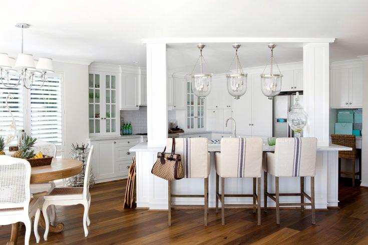 Combining Hamptons, elegance and a beach house style. Photo: Angelita Bonetti / Australian House & Garden