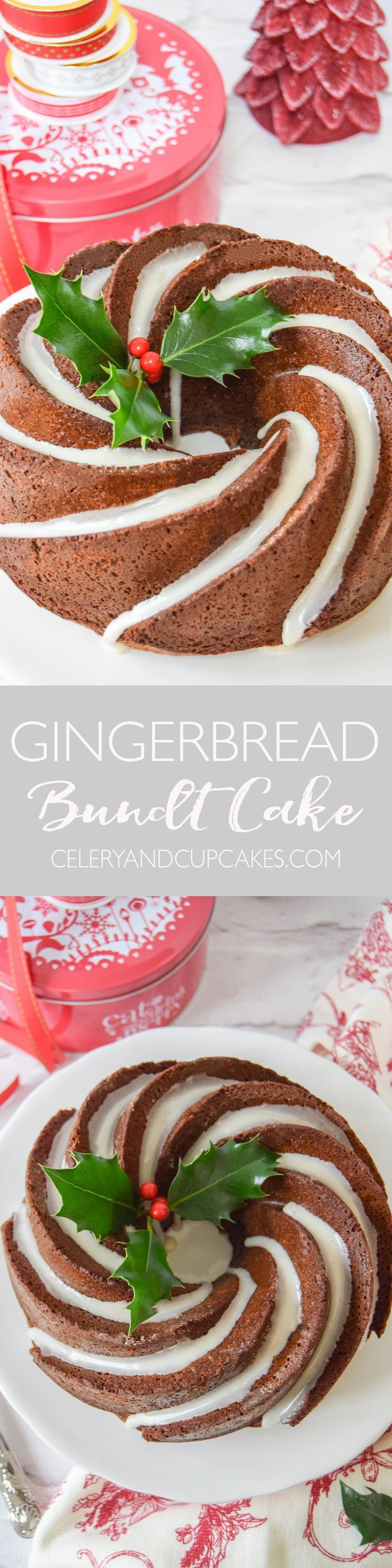 A delicious sticky spiced bundt cake that is perfect to serve to guests over the festive season.