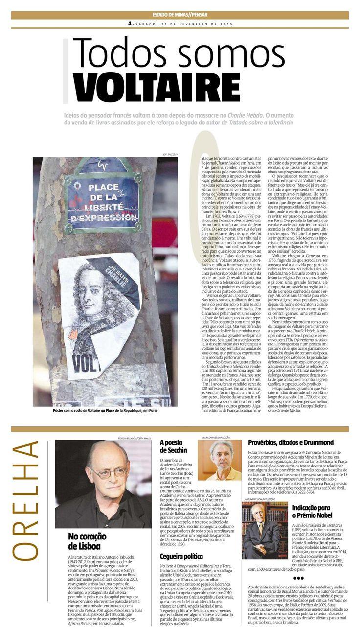 Europa Alemã no jornal Estado de Minas