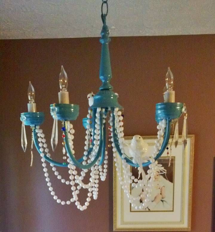 105 Best Images About Chandelier Repurposing On Pinterest