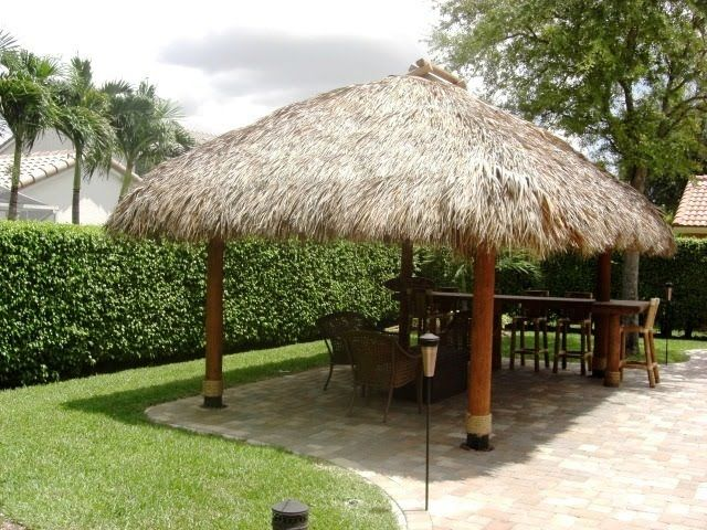 & 15 Dramatic Landscape Lighting Ideas | Tiki hut Backyard and Room