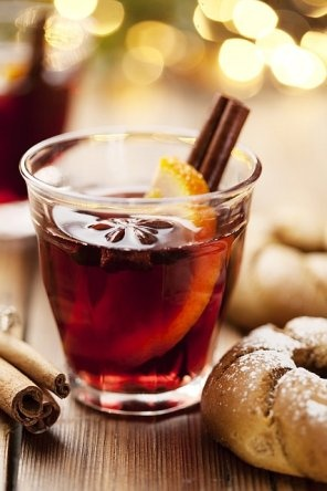 Mulled wine (grzane wino)