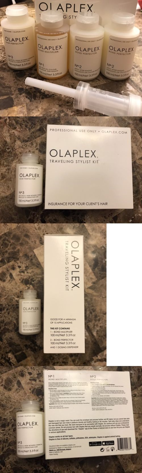 Hair Color: Nib New Sealed Professional Olaplex Traveling Stylist Full Kit Step 1 And 2(2) And 3 -> BUY IT NOW ONLY: $85 on eBay!