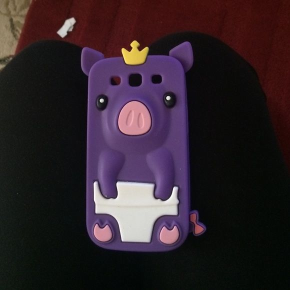 Samsung case Galaxy s3 Samsung pig case! In good condition, not broken or any other flaws. For Galaxy s3 Samsung Accessories