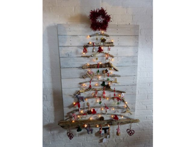 Image result for driftwood christmas tree