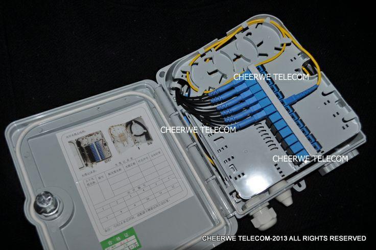 12 Fiber FTTH Box