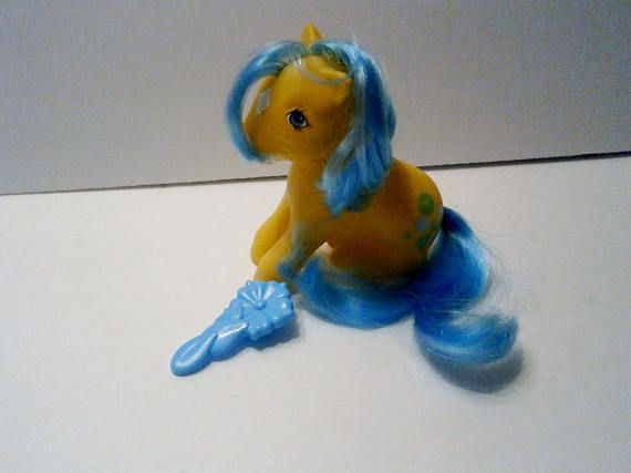 Vintage My Little Pony Bubbles G-1 Year Two Earth Pony Hasbro
