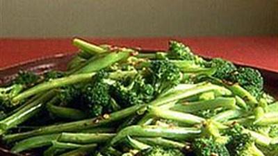 Broccoli and Green Beans  Recipe by Giada De Laurentiis from Everyday Italian.