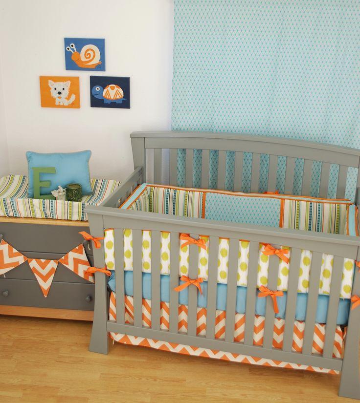 119 Best Orange In The Nursery Images On Pinterest Baby