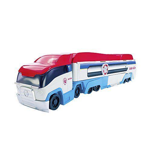 Paw Patrol – 6024966 – Camion Pat' Patrouilleur: fonctionne avec 3 piles boutons AG13 (LR44) incluses les figurines et véhicules…