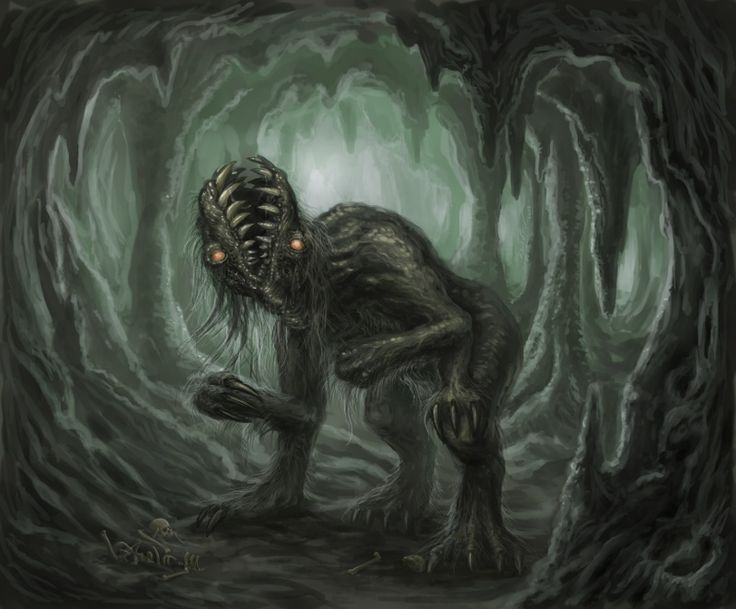 Lovecraft Bestiary Project: Gug (http://www.conceptart.org ...