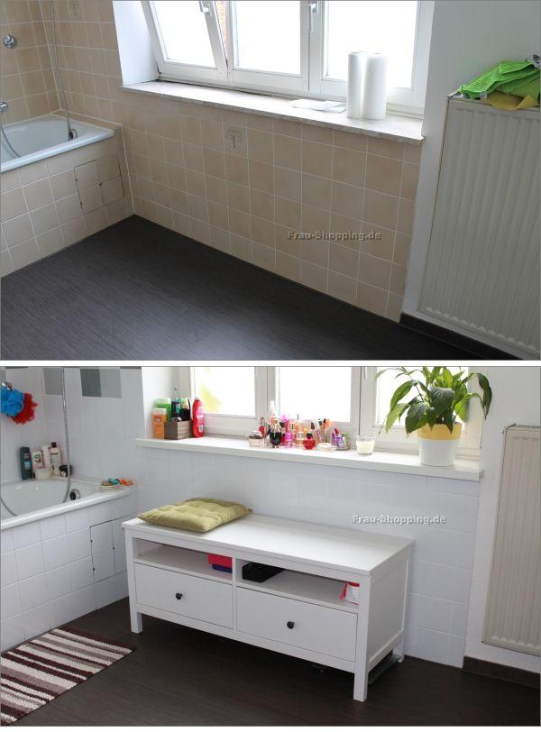 Mein Badezimmer   vorher Nachher   Küche folieren, Wohnung einrichten tipps, Hausrenovierung