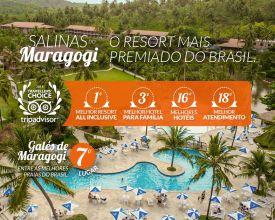 O Resort mais premiado do Brasil