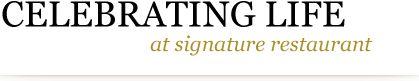 Ash 'n Chang: Signature Restaurant   Dinner Date