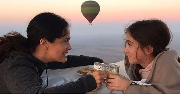 Salma Hayek and Her Daughter, Valentina, Are the Modern-Day Lorelai and Rory
