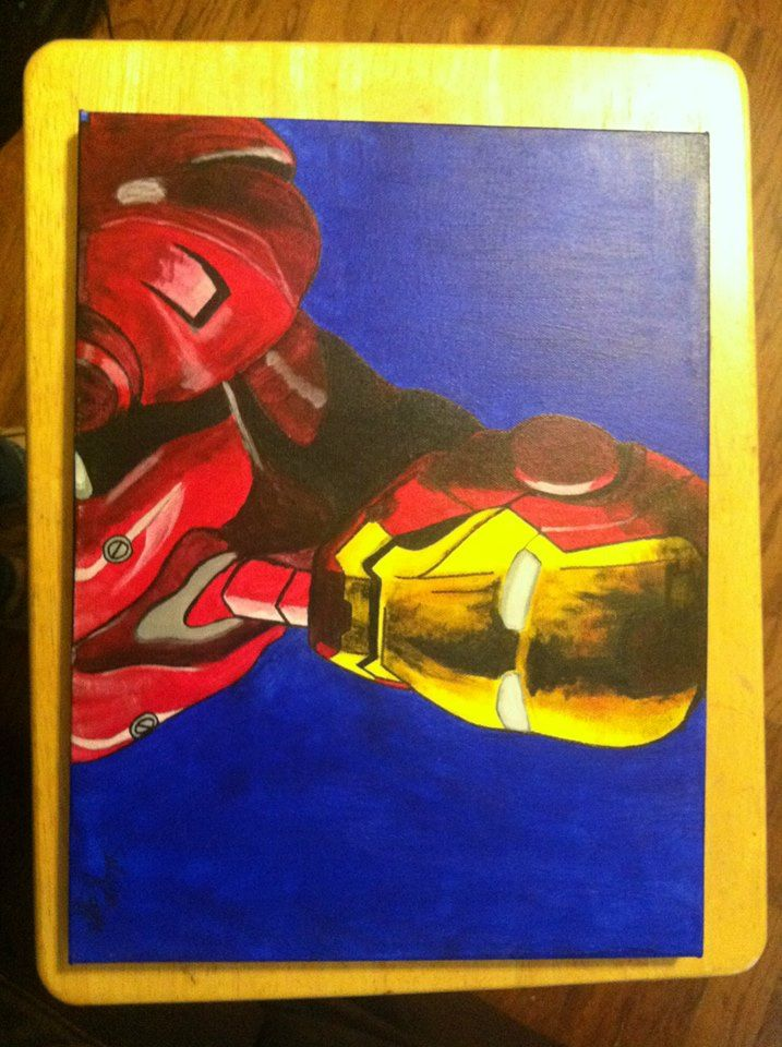 Canvas Painting- Iron Man
