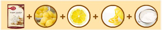 """Lemon Drop Cookies Made Easy  Drizzle with a lemon glaze while warm for an added burst of flavor."""""""